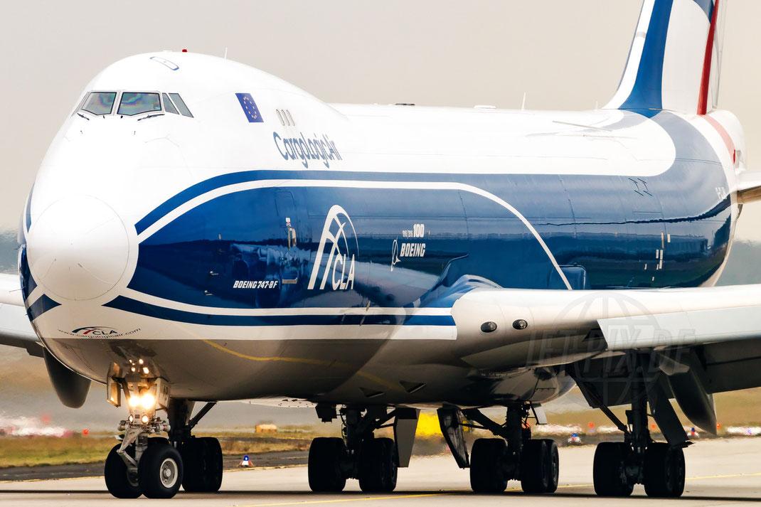 G-CLAB Cargologic CLA Boeing 747-8 2018 01 08 EDDF Frankfurt