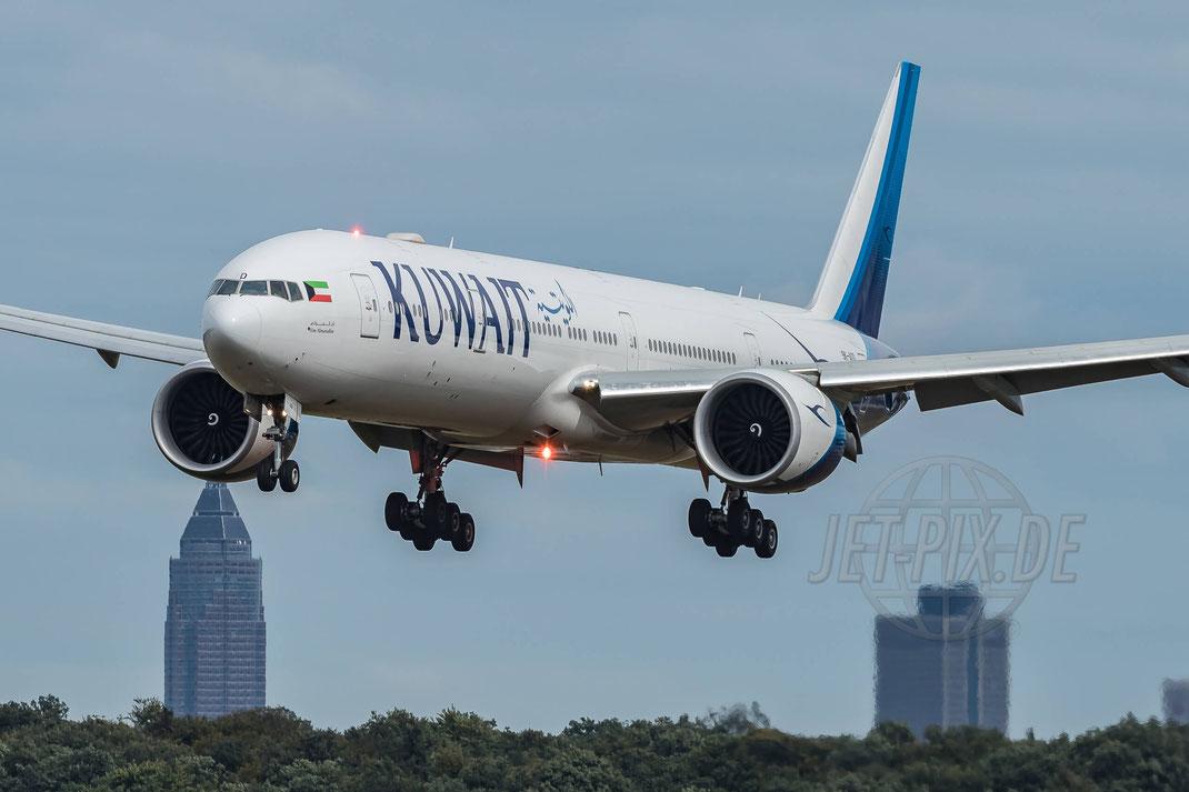 9K-AOD Kuwait Airways Boeing 777-369(ER) 2017 09 13 EDDF Frankfurt