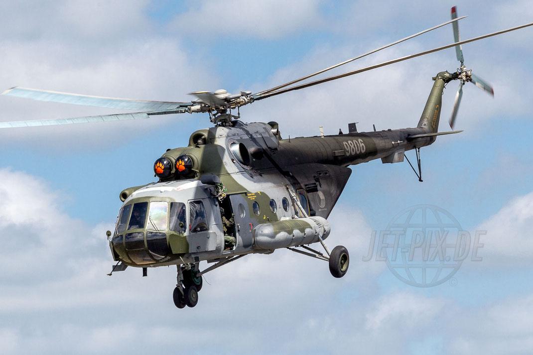 9806 Czech - Air Force Mil Mi-171Sh Hip 2014 06 23 ETNS Jagel