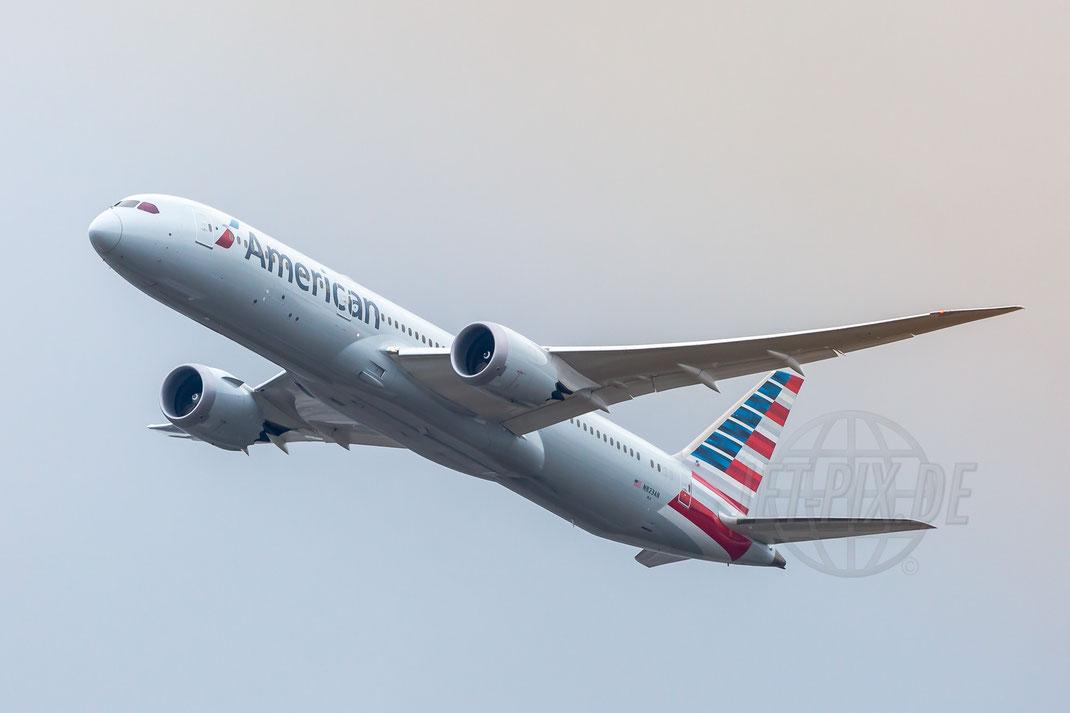 N823AN American Airlines Boeing 787-9 Dreamliner 2017 12 17 EDDF Frankfurt