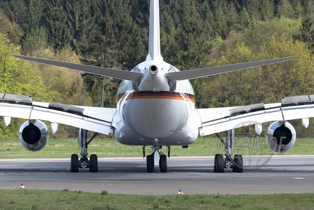 16+02 German Air Force GAF Airbus A340 2017 05 13 EDFH Hahn