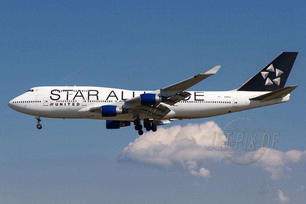 "N121UA United Airlines ""Star Alliance"" Boeing 747-422 2012 05 28 EDDF Frankfurt"