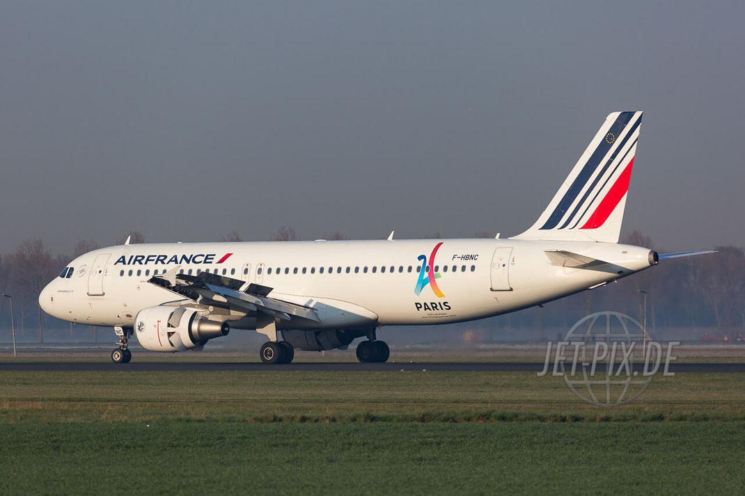 F-HBNC Air France Airbus A320-214 Amsterdam (EHAM) Landing Polderbaan JET-PIX.DE Schiphol Jetspotter Planespotting Planespotter bestes Wetter Fritten Krokett Lebensgefühl Niederländer Spaß