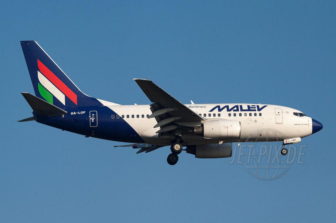HA-LOF Málev Hungarian Airlines Boeing 737-6Q8 2011 09 28 EDDF Frankfurt