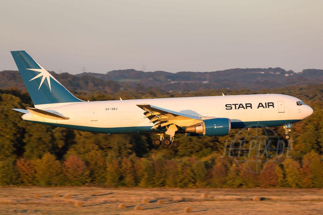 OY-SRJ Star Air Boeing-767-25E(BDSF) 2016 10 16 EDDK Köln
