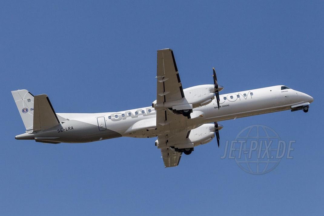 SE-LRA Swedish Aircraft Holdings Saab 2000 2013 07 21 EGVA Fairford