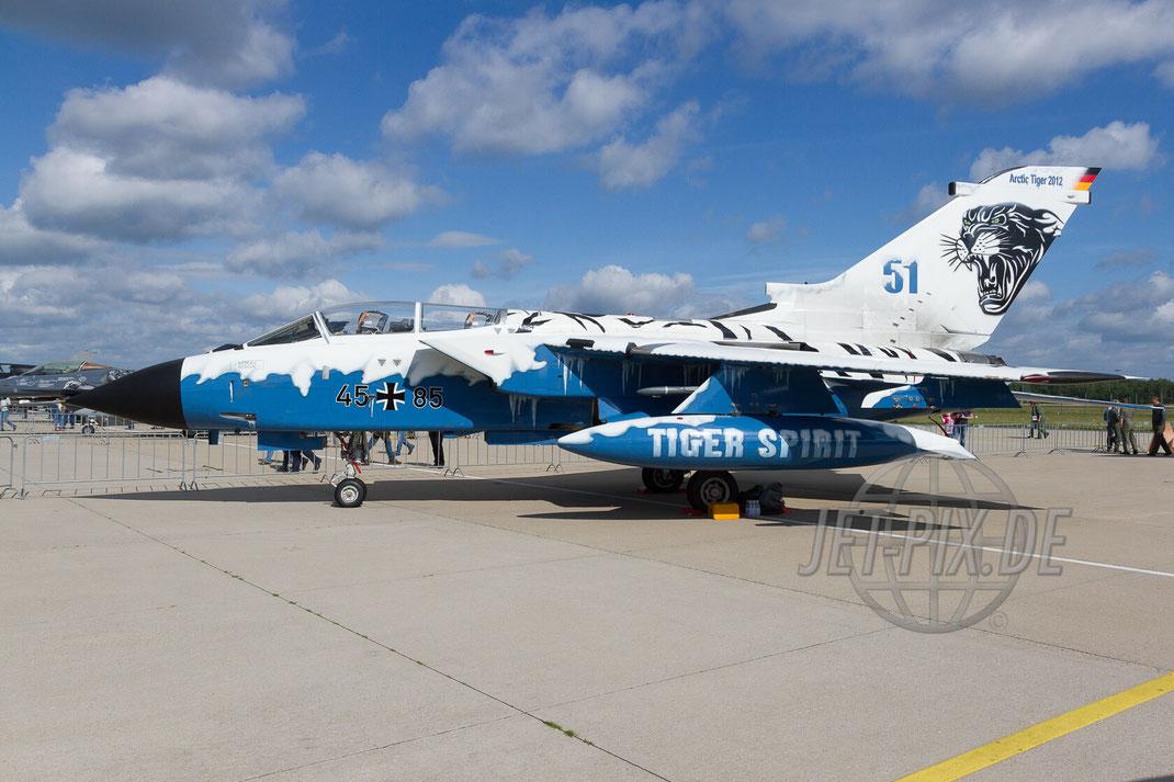 45+85 Deutsche Luftwaffe Arctic Tiger 30 YEARS AWACS 2012.06.17 ETNG/GKE Geilenkirchen