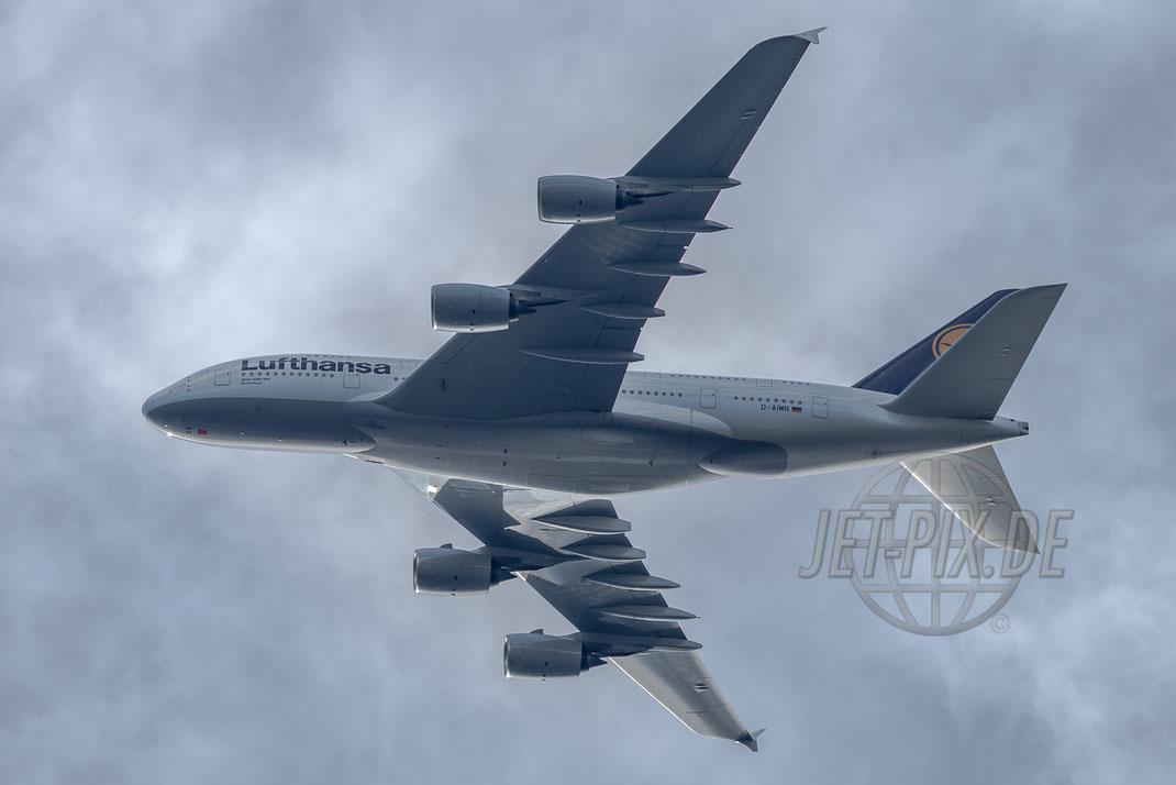 D-AIMN Lufthansa Airbus A380 2017 05 21