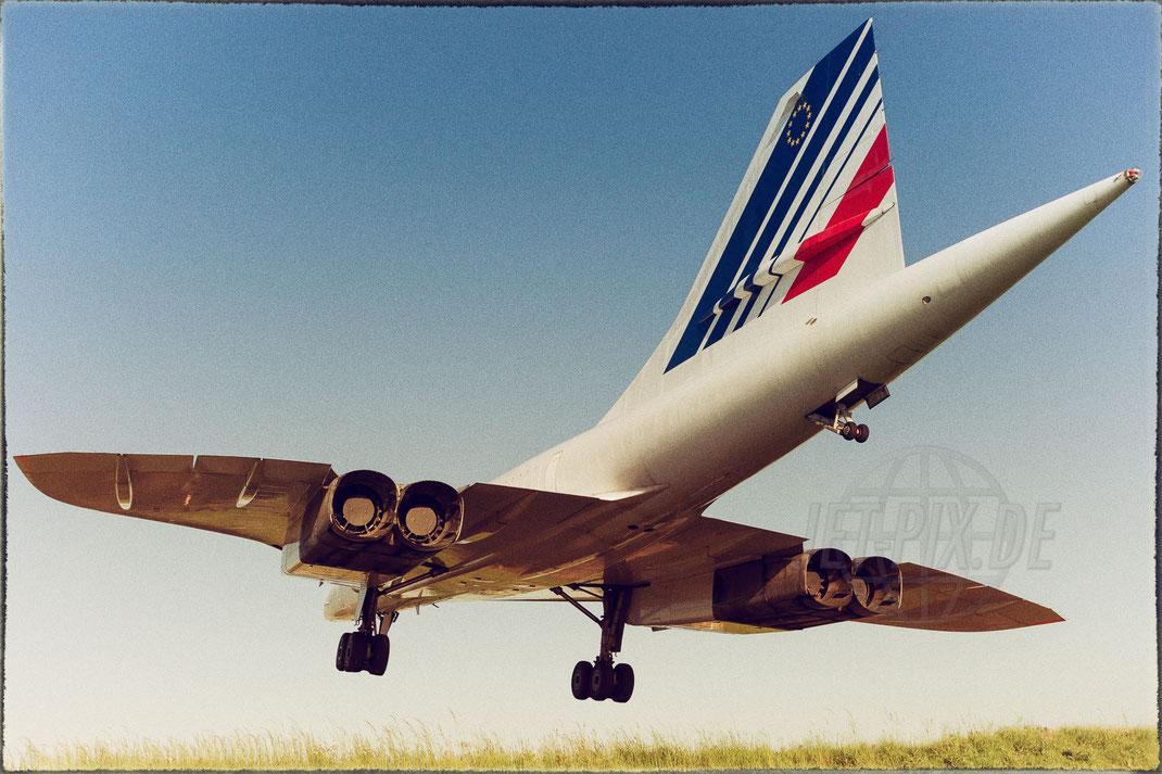 F-BVFF Air France Aérospatial/BAC Concorde 2015 05 15 LFPG Charles de Gaulle
