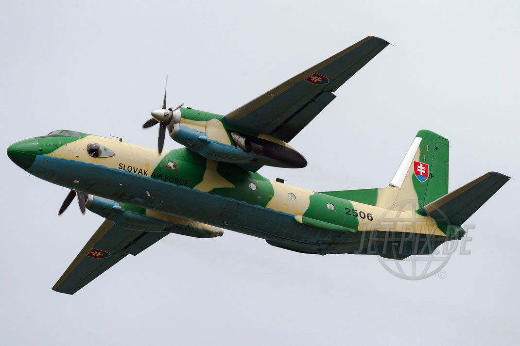 2506 Slovak Air Force Antonov AN-26 2013 06 16 EHVK Volkel