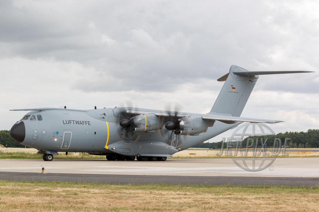 """54+04 German Air Force Airbus A400M 2017 06 30 ETNG Geilenkirchen """"35 Years E-3A"""""""