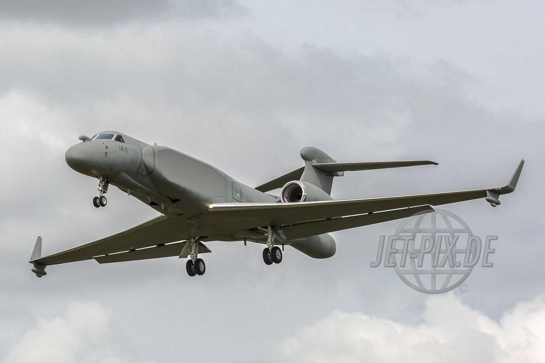 MM62293 Aeronautica Militare Gulfstream Aerospace C-37B 2017 06 29 ETNG Geilenkirchen Pre-Spottertag 35 Years E3A