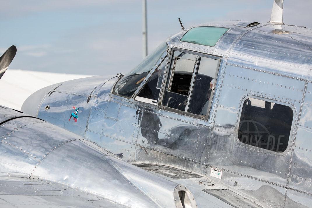 N45CF Beech G18S 2017 06 25 Tag der Luftfahrt (TdL)