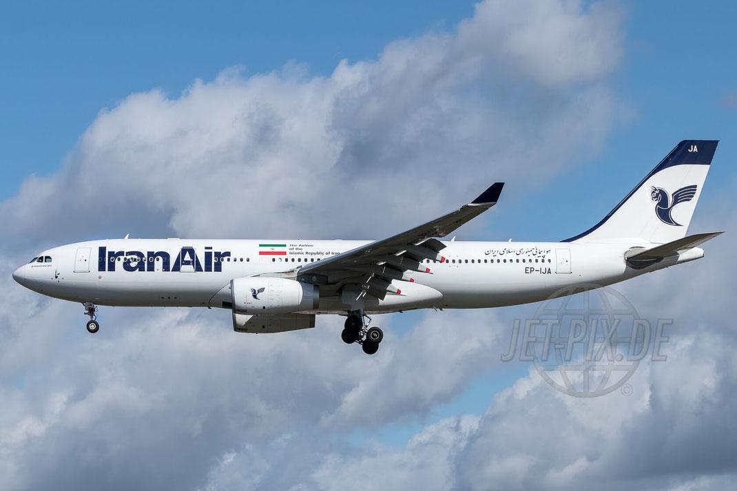EP-IJA Iran Air Airbus A330-243 2017 08 19 EDDF Frankfurt