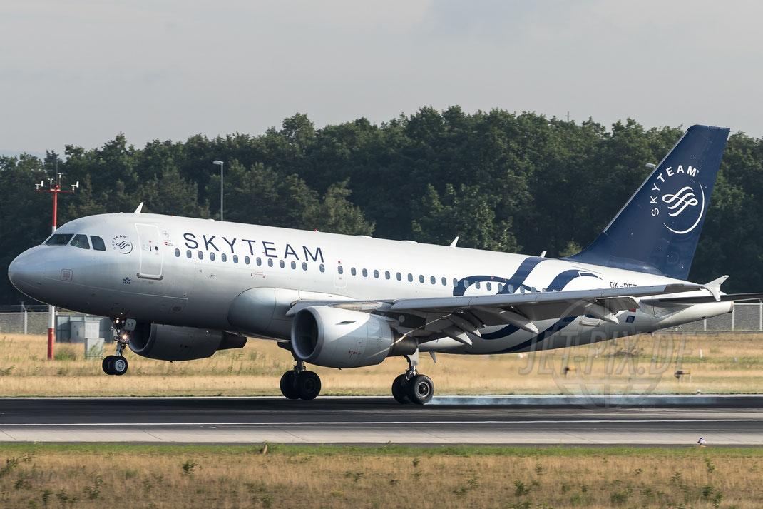 OK-PET Czech Airlines (CSA) Airbus A319-112 2017 08 02 EDDF Frankfurt