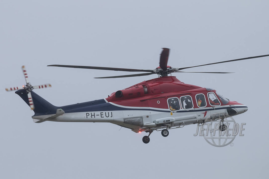 PH-EUJ CHC Helicopters Netherlands Agusta Westland AW139 Den Helder (EHKD)