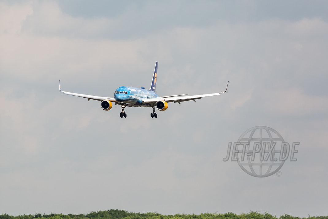 TF-FIR IcelandAir Boeing 757 80 Years 2017 05 14 EDDF Frankfurt