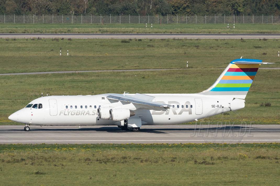 SE-RJI BRA - Braathens Regional Airlines British Aerospace Avro RJ100 2017 10 14 EDDL Düsseldorf