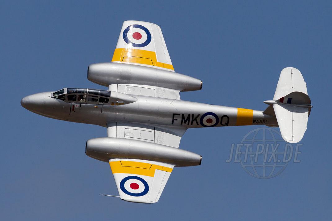 G-BWMF Aviation Heritage Gloster Meteor T.7 2013 07 21 EGVA Fairford