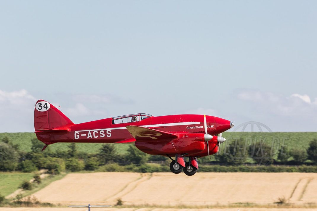 G-ACSS de Havilland Comet Duxford (EGSU) 2017 07 08 Flying Legends
