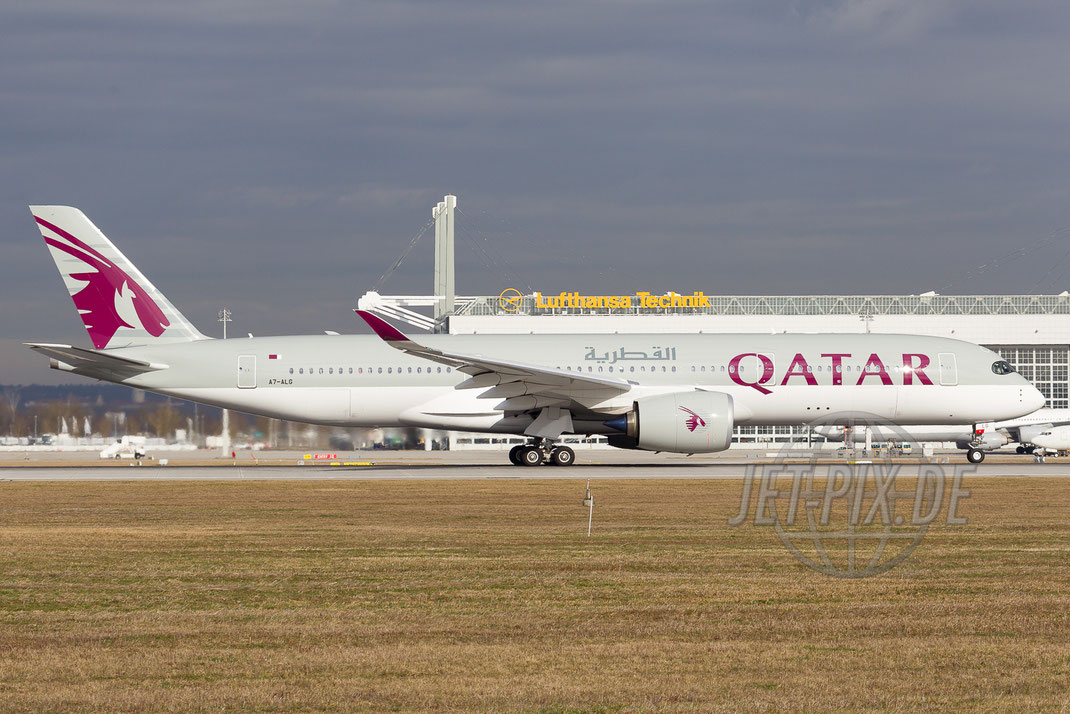 A7-ALG Qatar Airbus A350  2016 02 12 EDDM München