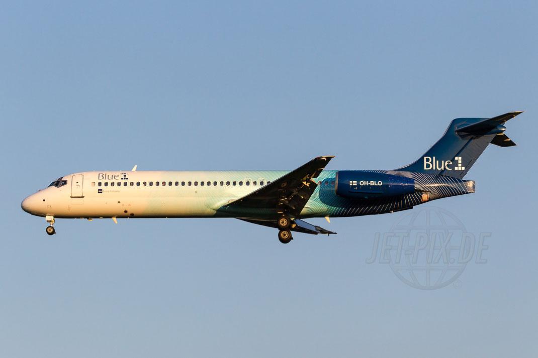 OH-BLO Blue1 Boeing-717-2K9 2014 05 19 EDDL Düsseldorf