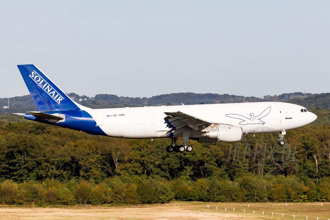 S5-ABS Solinair Airbus A300B4 2012 09 30 EDDK Köln