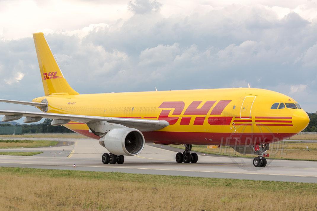 D-AEAT EAT Leipzig Airbus A300B4-622R(F) 2017 08 02 EDDF Frankfurt