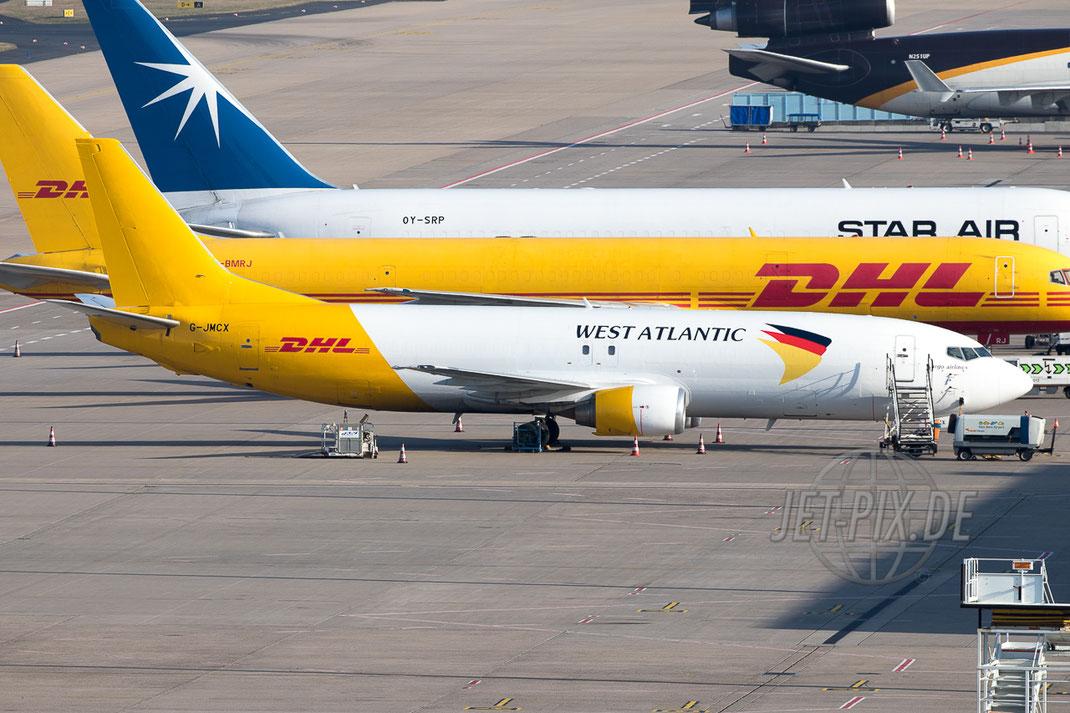 G-JMCX West Atlantic Boeing 737 (F) 2017.03.16 EDDK KÖLN BONN Frankfurt Airport Nordwestbahn Planespotter Plane Spotter EDDF Frankfurter Flughafen Planespotter