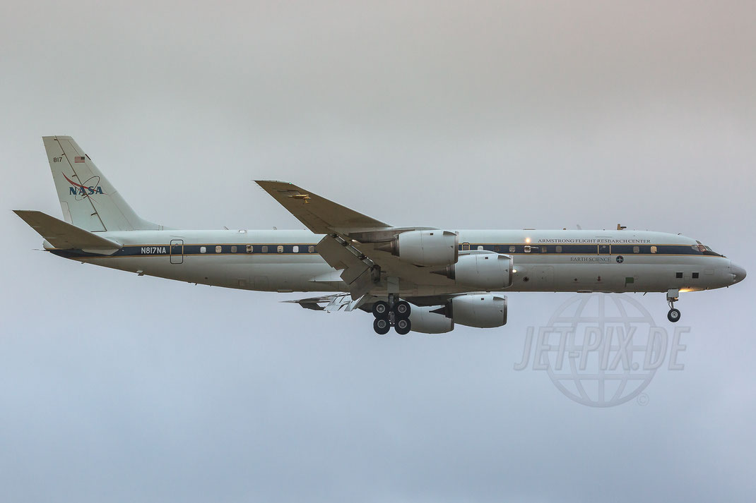 N817NA NASA Douglas DC-8-72 2018 01 14 ETAR Ramstein