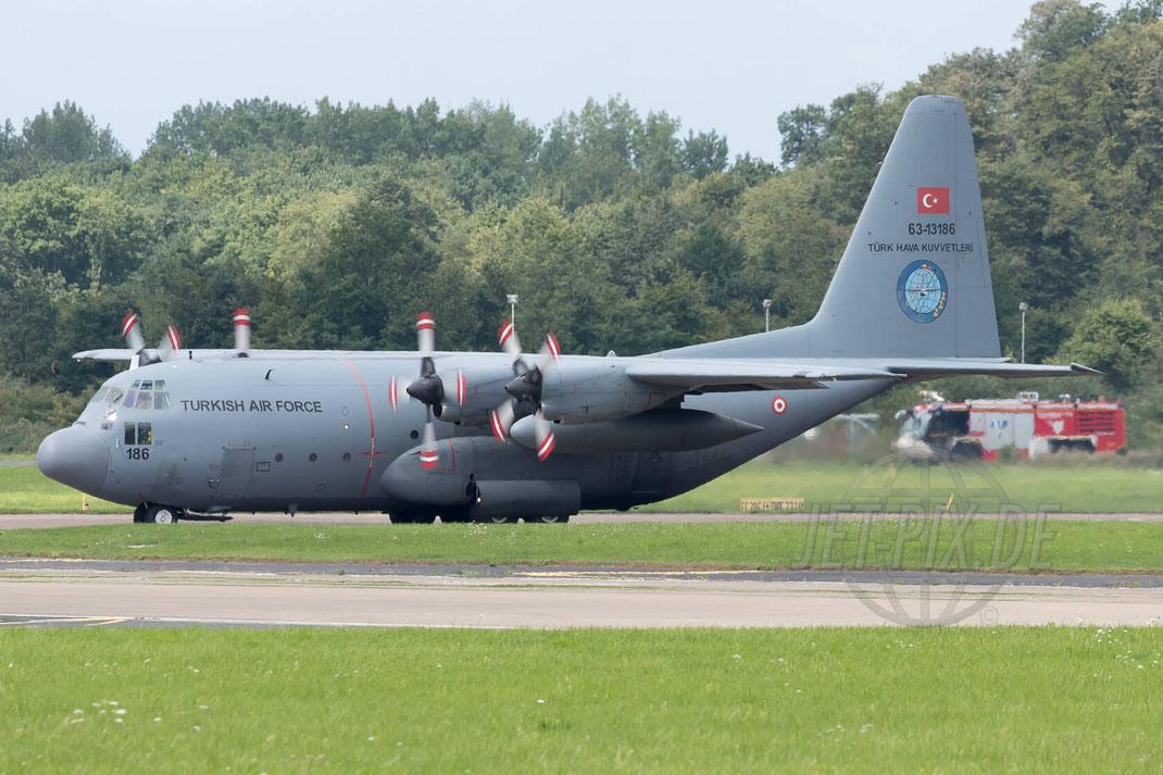 63-13186 TuAF Hercules C-130 72 2017 08 04 ETNN Nörvenich