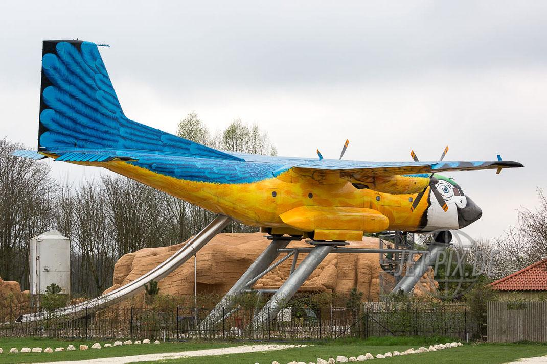 "50+98 Transall C-160 Private ""Paradisvogel"" IRRLAND ARA Vergnügungspark Flugzeug Jet Propeller Prop Frankfurt Airport Nordwestbahn Planespotter Plane Spotter EDDF Frankfurter Flughafen Planspotter"