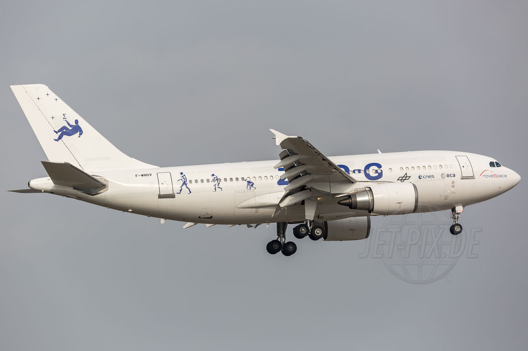 F-WNOV SA Novespace Airbus A310-304 2018 02 06 EDDF Frankfurt