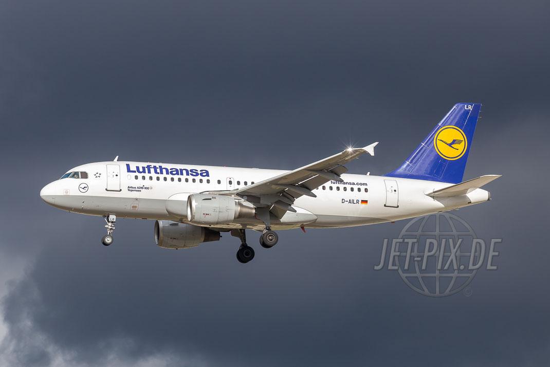 D-AILR Lufthansa Airbus A319 2016 02 14 EDDF Frankfurt