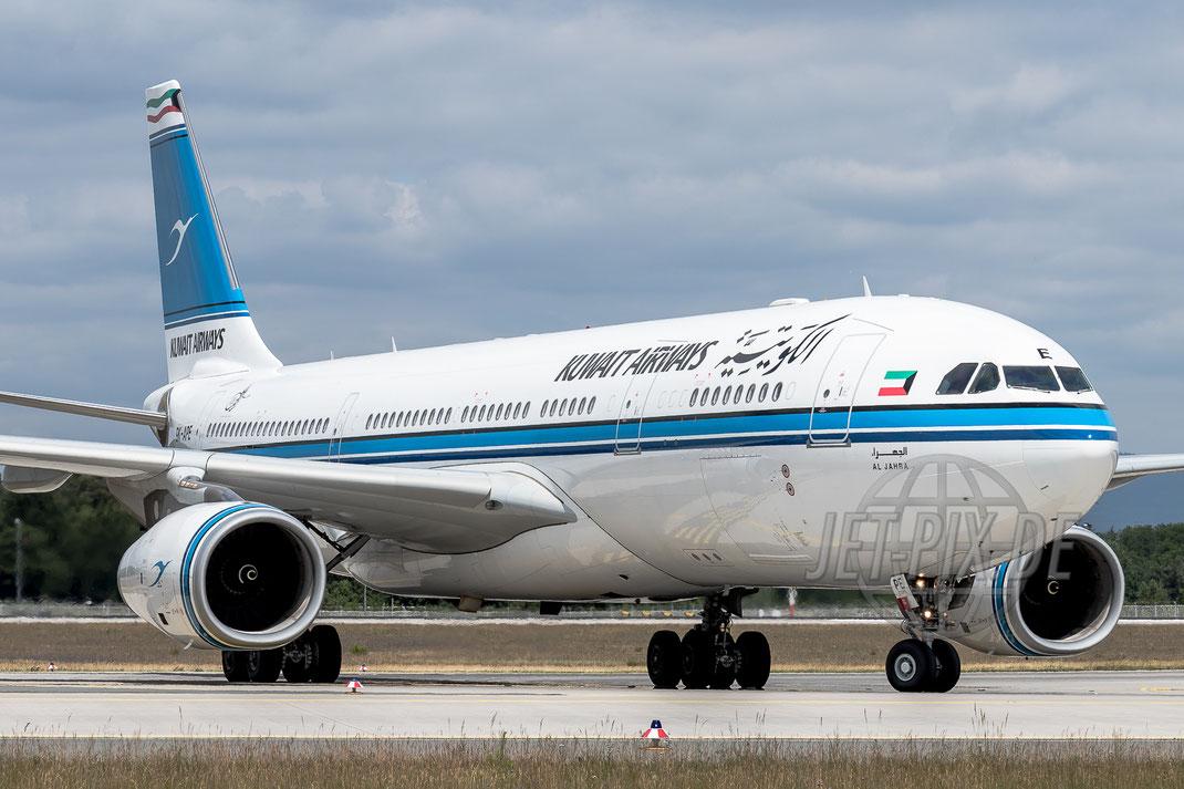 9K-APE Kuwait Airways Airbus A330 2017 06 13 EDDF Frankfurt