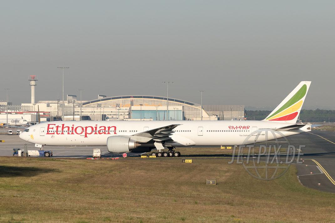 ET-ASK Ethiopian Boeing 777 2017 05 10 EDDF Frankfurt