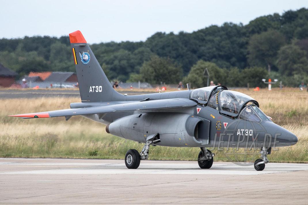 """AT30 Belgian Airforce Dassault-Dornier Alpha Jet 2017 06 30 ETNG Geilenkirchen """"35 Years E-3A"""""""