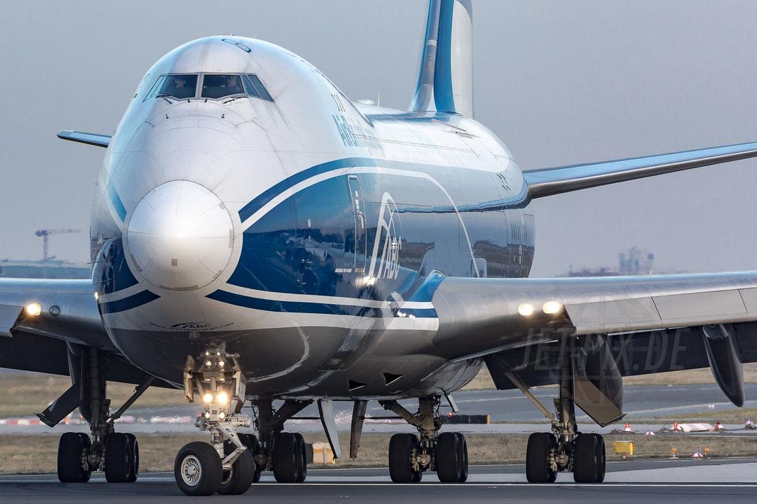 VQ-BIA Air Bridge Cargo Boeing 747 2018 01 09 EDDF Frankfurt
