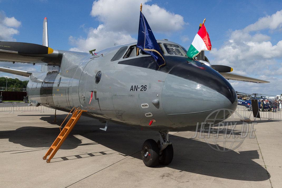 AN-26 Hungarian AirForce 30 YEARS AWACS 2012.06.17 ETNG/GKE Geilenkirchen