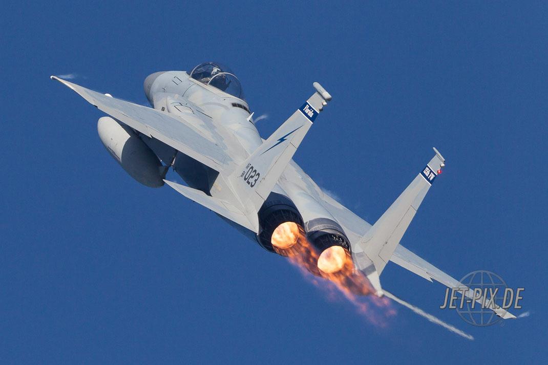 Amerikanische F15 geht steil  Florida Leeuwarden
