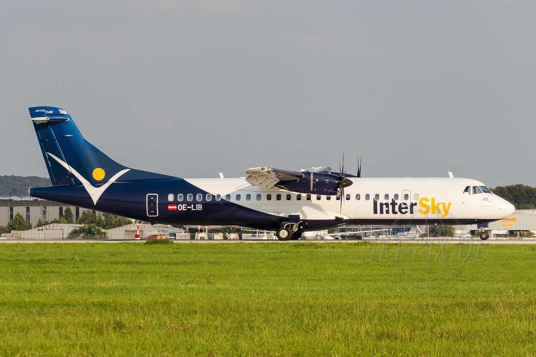 OE-LIB InterSky ATR-72 600 72-212a 2014 08 06 EDDL Düsseldorf