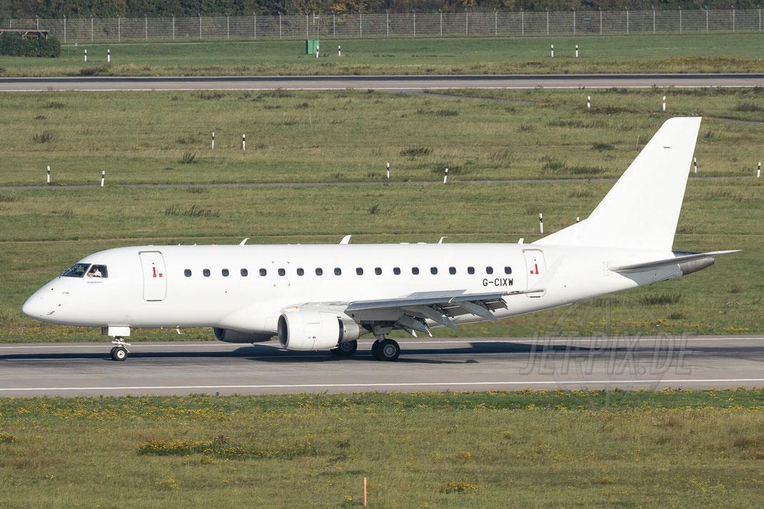G-CIXW Eastern Airways Embraer ERJ-170LR 2017 10 14 EDDL Düsseldorf