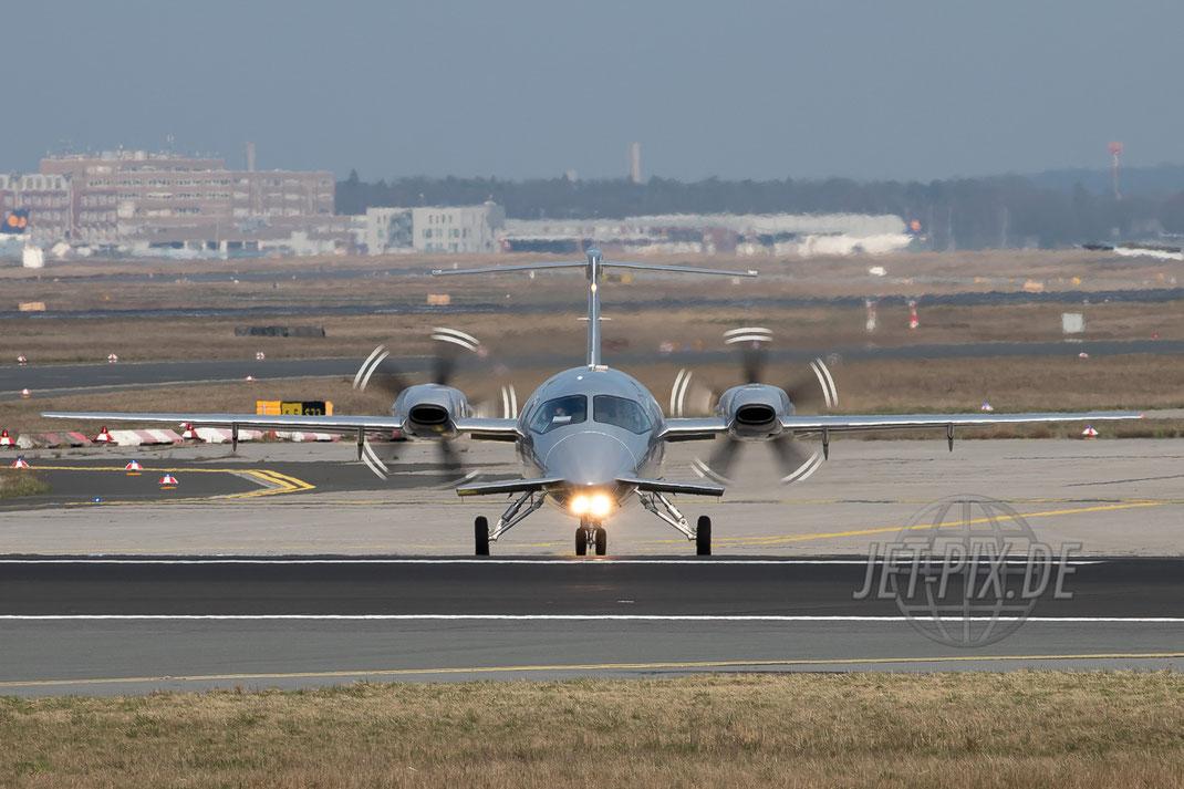 I-FXRK Private Piaggio-P180 EDDF Frankfurt 24.03.2017 Start auf der 18 EZB Mario Draghi Frankfurt Airport Nordwestbahn Planespotter Plane Spotter EDDF Frankfurter Flughafen Planspotter