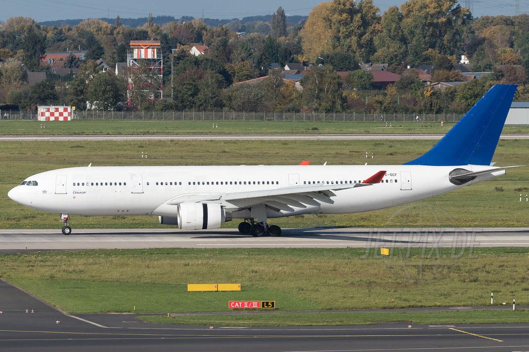 TC-OCF Onur Air Airbus A330-223 2017 10 14 EDDL Düsseldorf