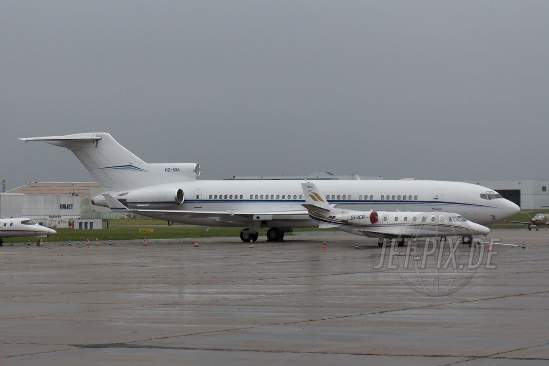 "HZ-SKI ""Private"" Boeing 727-212(A)(RE) 2015_05_14_LFPB_Le_Bourget Privat Jet BBJ Cooperate Business Luxus"