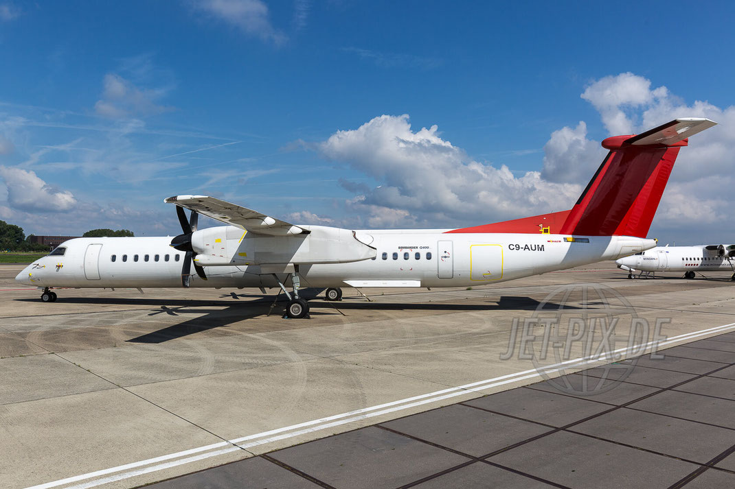 C9-AUM LAM De Havilland Canada DHC-8 2017 07 26 EHBK Maastricht