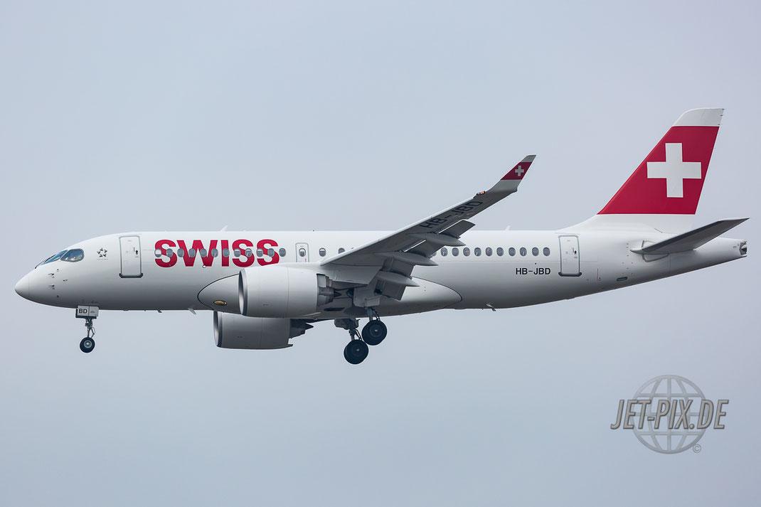 HB-JBD Swiss Bombardier CS100