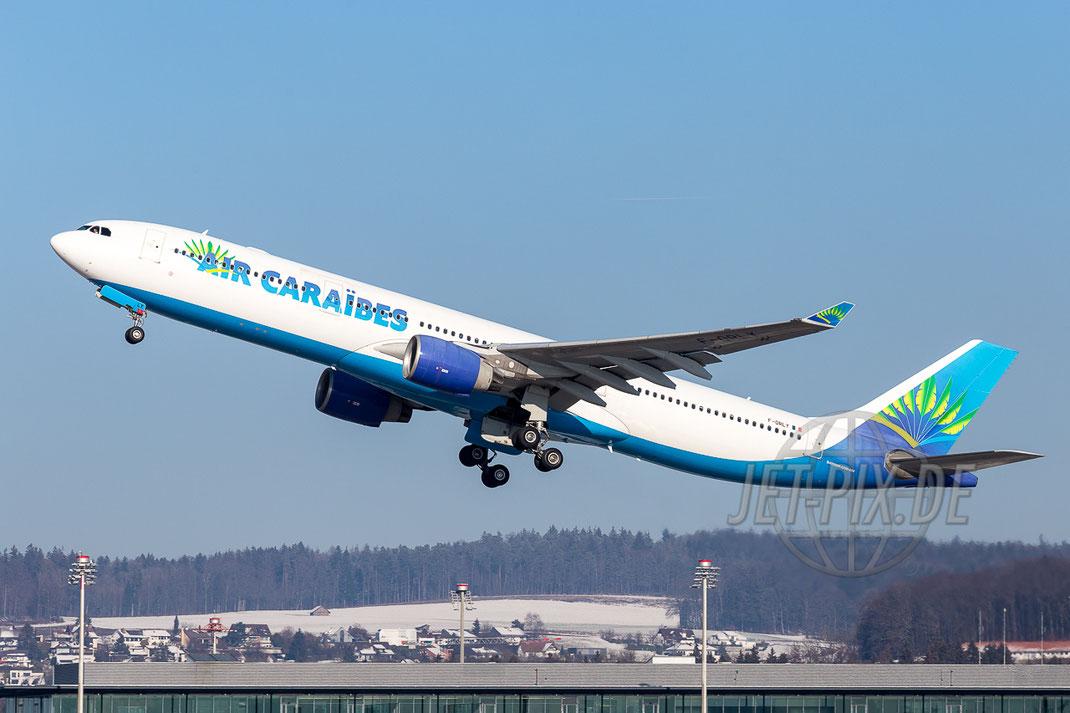 F-ORLY Air Caraibes 2016 01 21 ZRH Zürich