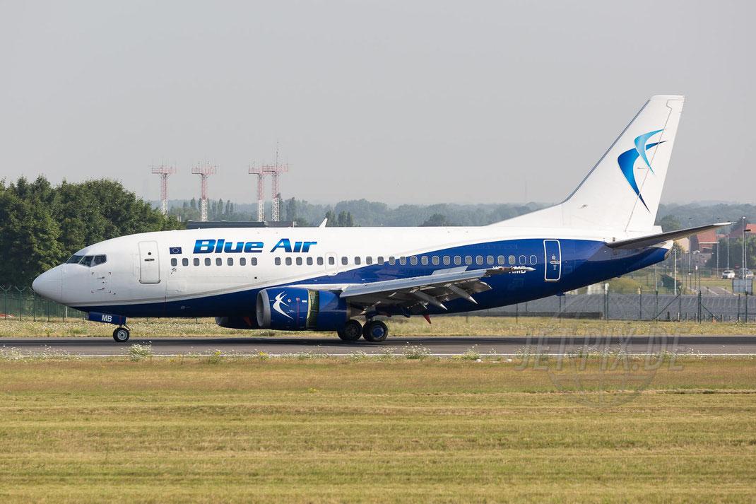 YR-AMB Blue Air Boeing 737-530 2017 07 07 Brüssel Zaventem (BRU/EBBR)