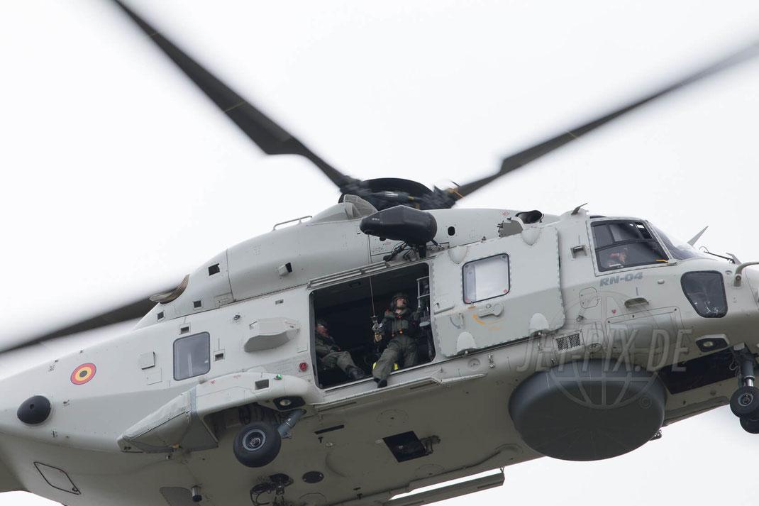 RN-04 Belgian Air Force NH90 2017 07 14 Koksijde (EBFN)